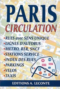 Plan de ville : Paris, circulation