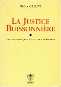 La justice buissonnière: Chroniques d'un juge d'instruction de Province