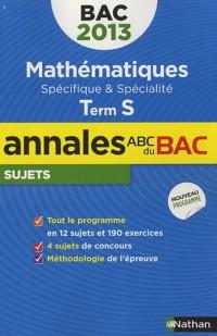 Annales bac 2013 maths s obli + spi nc n02