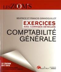 Comptabilité générale : Exercices avec corrigés detaillés