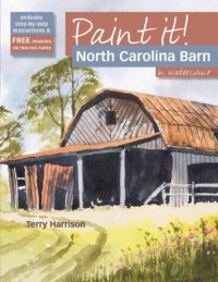 North Carolina Barn: In Watercolour