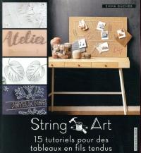 String art: 15 tutoriels pour des tableaux en fil tendu