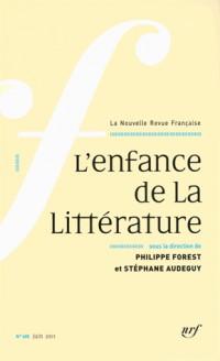 L'enfance de la littérature