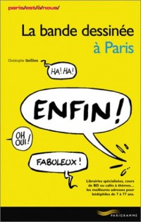 La bande dessinée à Paris