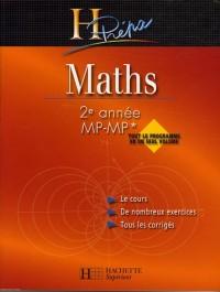 Maths 2e année MP-MP*