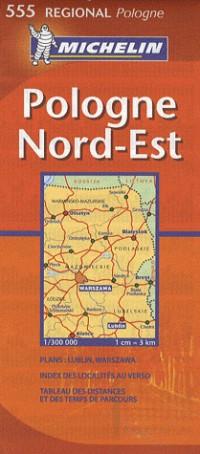 Pologne Nord-Est : 1:300 000