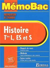 MEMO PREPA.EXAM. HISTOIRE TERM.    (Ancienne Edition)