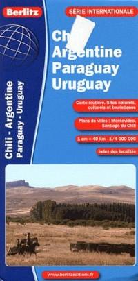 Chili-Argentine-Uruguay-Paragu