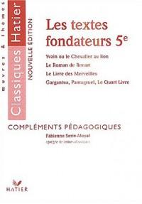 Textes fondateurs 5ème, livre du maître
