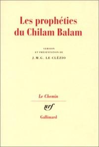 Les Prophéties du Chilam Balam