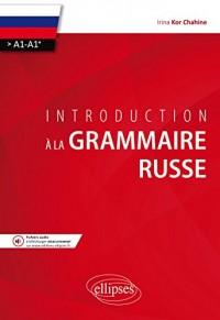 Introduction à la grammaire russe (A1>A1+)