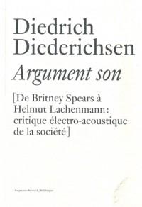 Argument son