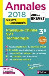 Annales ABC du Brevet Physique-Chimie SVT Techno 2018