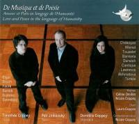De musique et de poésie (1CD audio)