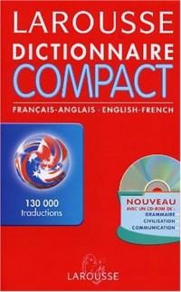 Dictionnaire Compact : Anglais/français, français/anglais (CD-Rom inclus)