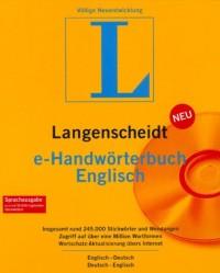 Langenscheidt e-Handwörterbuch Englich