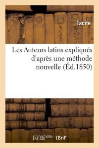 Les Auteurs Latins  ed 1850