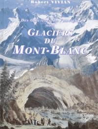 Glaciers du mont-blanc