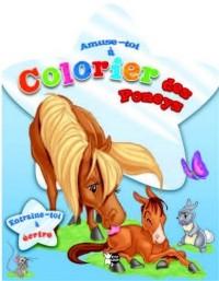 Poneys Tome 2 : Amuse toi à colorier