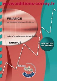 Finance Enonce - Ue 2 du Dscg