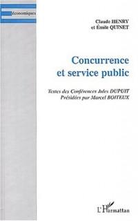 Concurrence et service public
