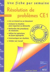 Résolution de problèmes : CE1