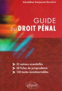 Guide Du Droit Penal