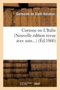 Corinne Ou l Italie  Nouvelle ed  ed 1860