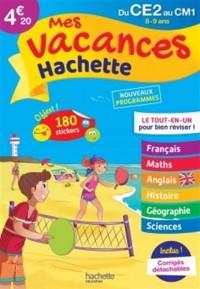 Mes vacances Hachette CE2/CM1 - Cahier de vacances
