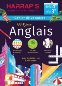Harrap'S Cahier de Vacances Anglais Quatrième/Troisième