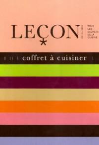 Coffret à cuisiner en 3 volumes : Macarons ; Foie gras ; Saumon