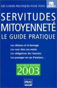 Servitudes et mitoyenneté