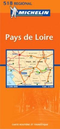 Carte routière : Pays de Loire, N° 11518