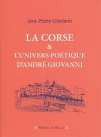 La Corse et l'univers poétique d'André Giovanni