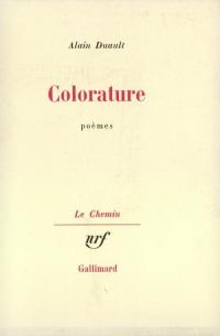 Colorature