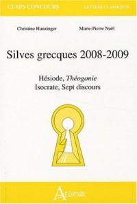Silves grecques : Hésiode, Théogonie-Isocrate, Sept discours