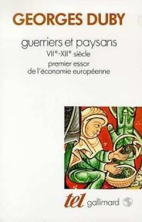 Guerriers et paysans (VII-XIIe siècle)