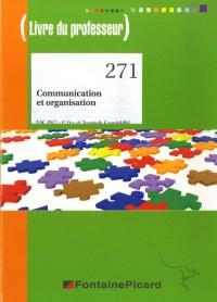 Communication et Organisation Bac Pro Comptabilite Corrige