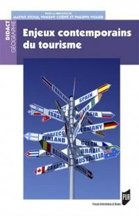 Enjeux contemporains du tourisme