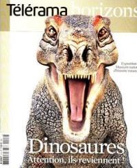 Telerama Horizons N 2 - les Dinosaures