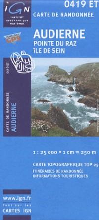 Audierne / Pointe Du Raz / Ile De Sein GPS: Ign.0419et