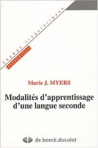 Modalités d'apprentissage d'une langue seconde