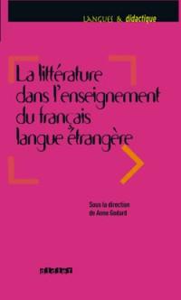 La littérature dans l'enseignement du FLE - Livre