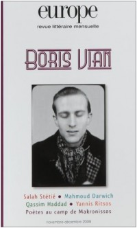 Europe, N° 967-968 : Boris Vian