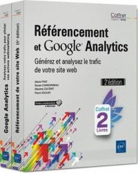 Référencement et Google Analytics - Coffret de 2 Livres : Générez et analysez le trafic de votre site web (2e édition)