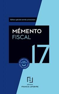 MEMENTO FISCAL ETUDIANT 2017