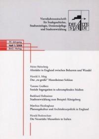 Die Alte Stadt 2008, Heft 1 by Arbeitsgemeinschaft Die Alte Stadt