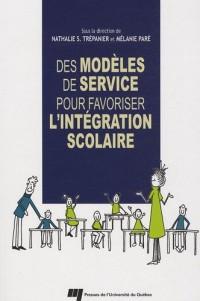 Des modèles de service pour favoriser l'intégration scolaire