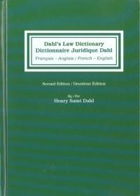 Dictionnaire juridique Dahl