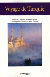 Voyage de Turquie